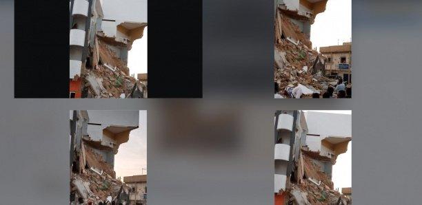 Un bâtiment de 3 étages s'effondre à Touba