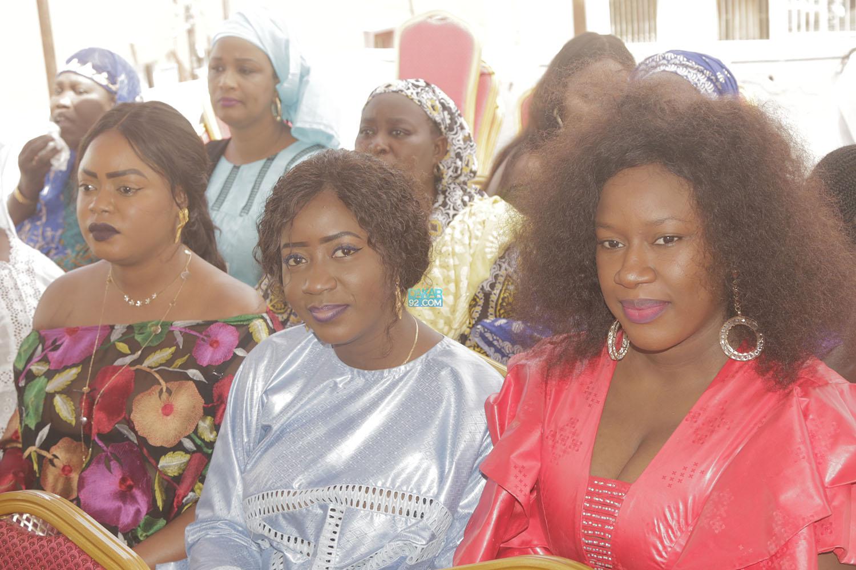 Les images du baptême de Issa Diama Camara, fille de Abba No Stress, les célébrités ont répondu à l'appel