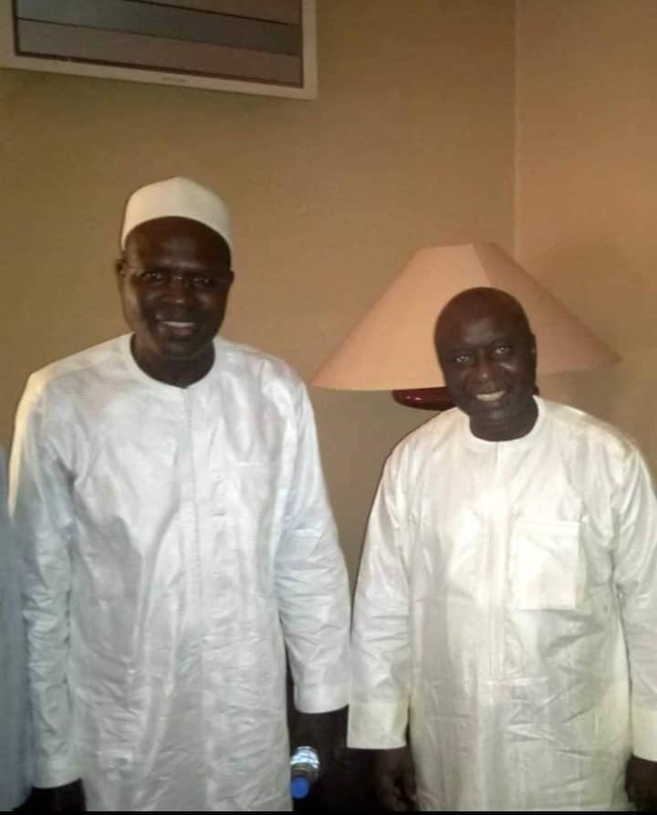 Khalifa Sall a rendu visite à Idrissa Seck
