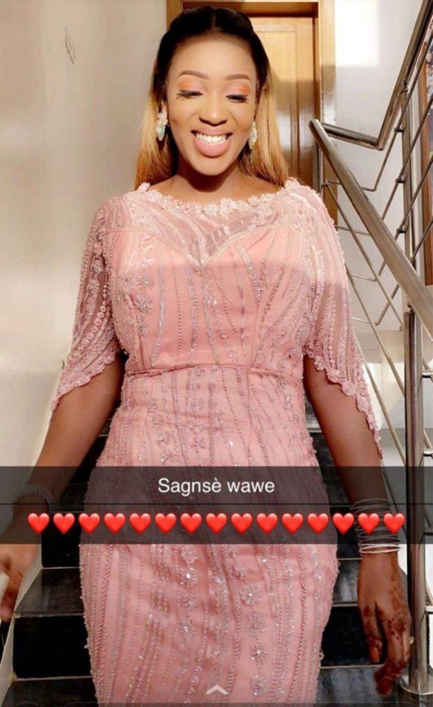 PHOTOS - Baptême du fils de Badou Chenko: Admirez la magnifique robe de Zahra Mbow, «awo de Cheikhou Kouyaté»