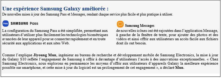 SAMSUNG - Les Galaxy Note10 et Note10+ regorgent de puissants outils conçus pour aider les utilisateurs
