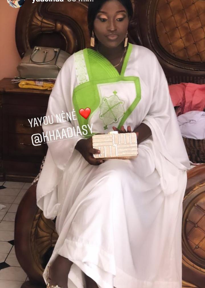 PHOTOS: Les premières images du baptême de la fille de Pape Sidy Fall et Khadija Sy