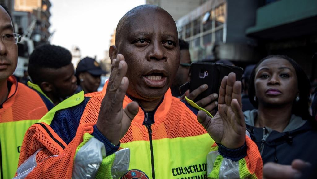 Afrique du Sud: Le maire de Johannesbourg démissionne
