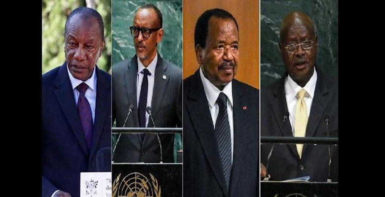 Découvrez ces présidents africains qui ont modifié la constitution pour rester au pouvoir