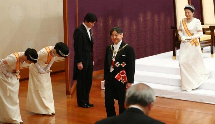 Japon : Intronisation du nouvel empereur Naruhito