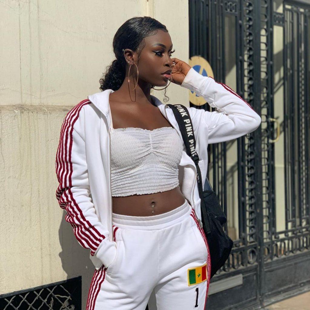PHOTOS - Diarra Sylla fait monter la température