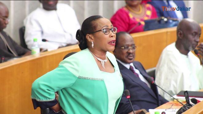Assemblée nationale: Mame Diarra Fam donne les raisons du limogeage de Sory Kaba