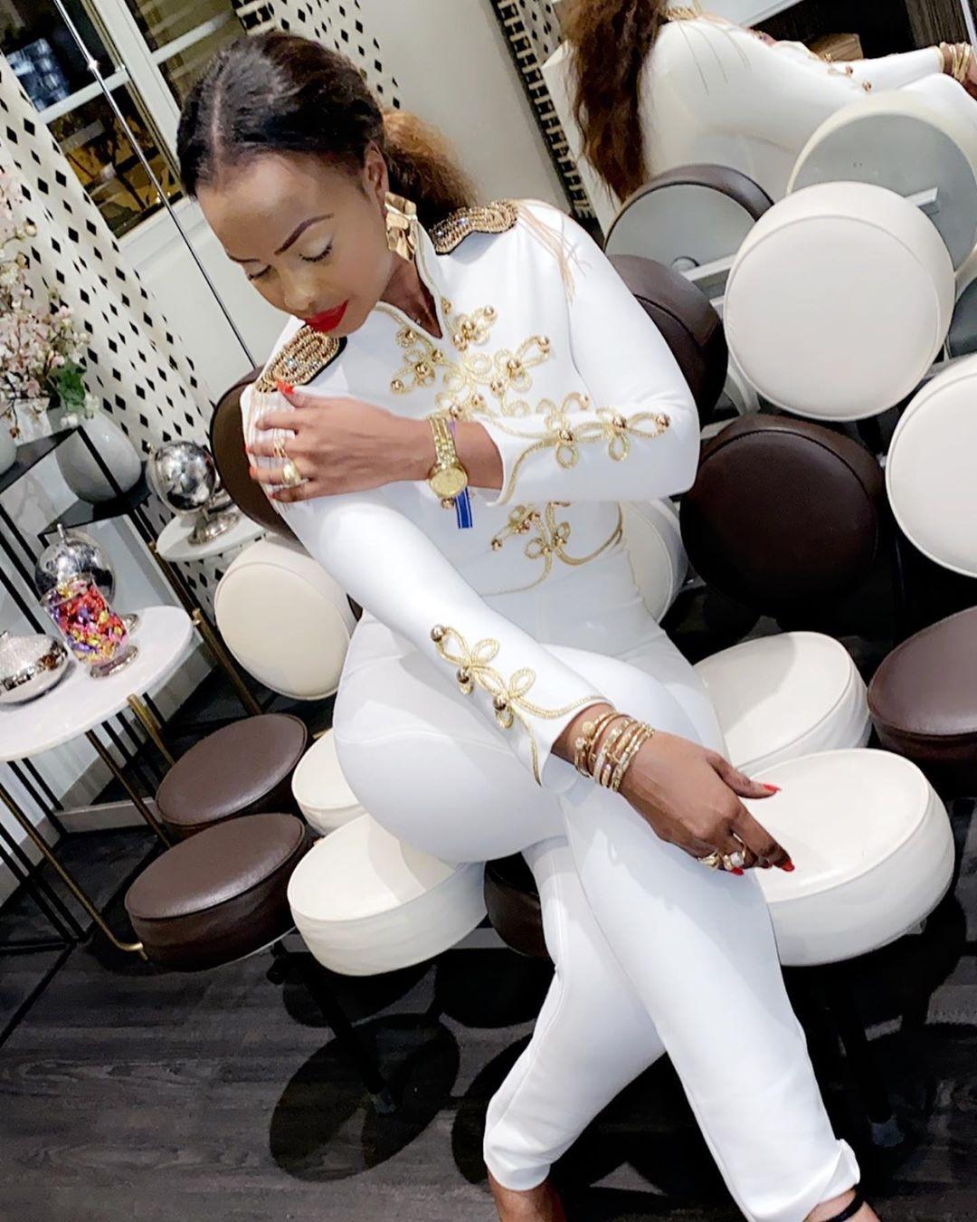 "PHOTOS - Mbathio NDIAYE en mode ""Capo"" et fait vibrer INSTAGRAM"