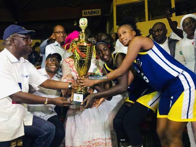 Basket : l'ASC Ville de Dakar vainqueur de la Coupe du Sénégal