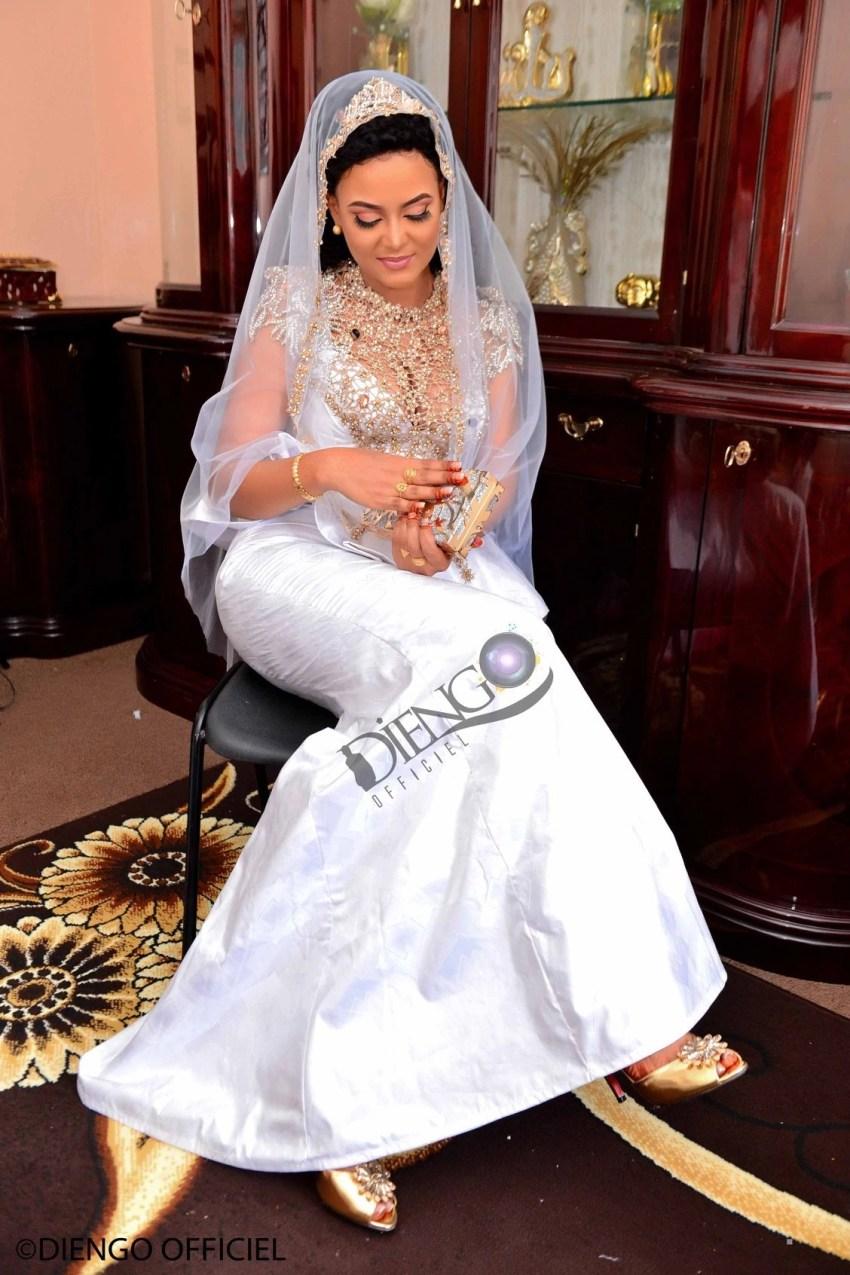 PHOTOS - Mariage Royal : Mounique devient Mme Mbaye