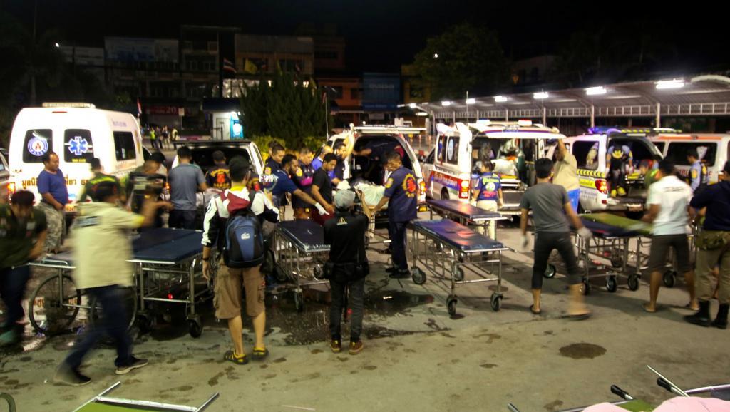 Thaïlande: Sanglante attaque d'hommes armés dans le sud du pays