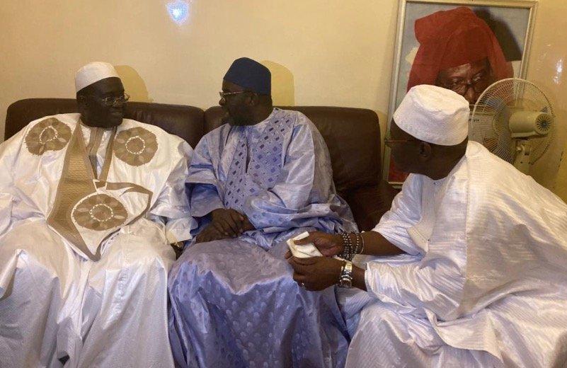 PHOTOS - Gamou 2019: Moustapha Cissé Lô chez Serigne Babacar Sy Al Amine