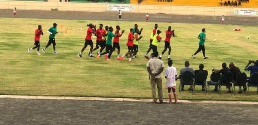 """Premier galop d'entraînement des """"Lions"""" à Thiès: Mané, Niang et Mendy absents"""