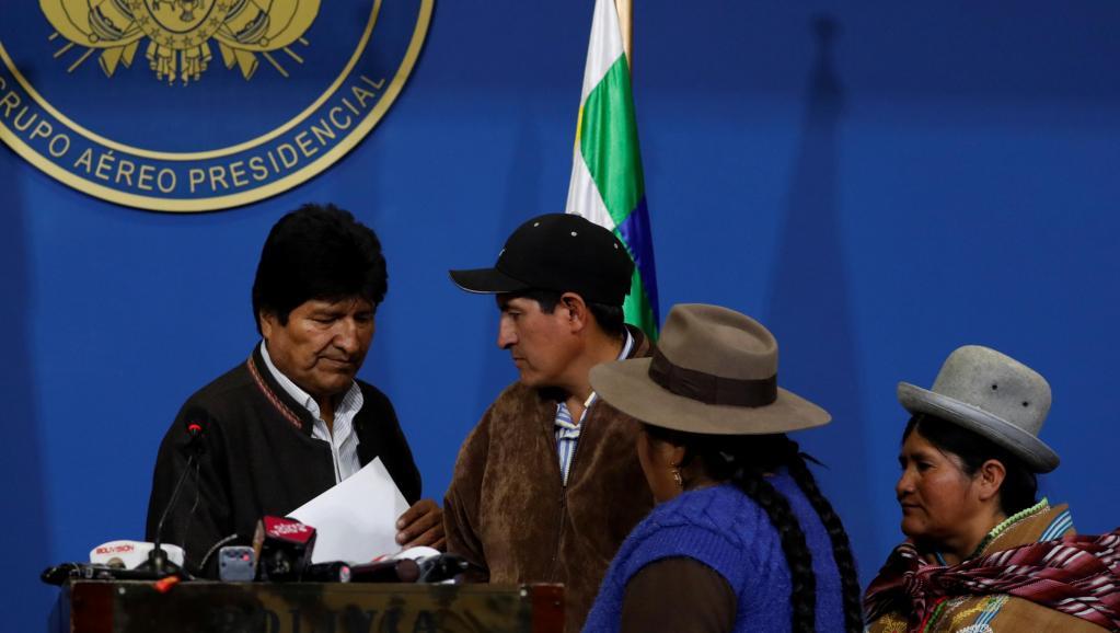 Le Bolivien Evo Morales part chercher l'asile politique au Mexique