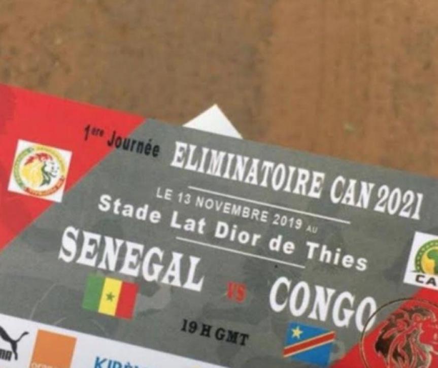 Match Sénégal -Congo, La FSF se trompe de drapeau