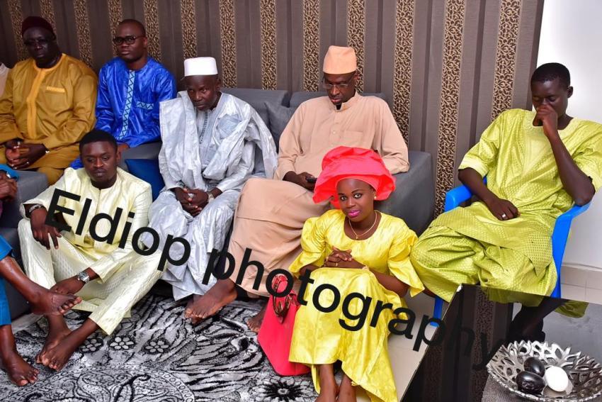 """PHOTOS - Baptême: Bouba Diop """"Soulagé"""", homme de confiance de Wally Seck, papa pour la deuxième fois"""