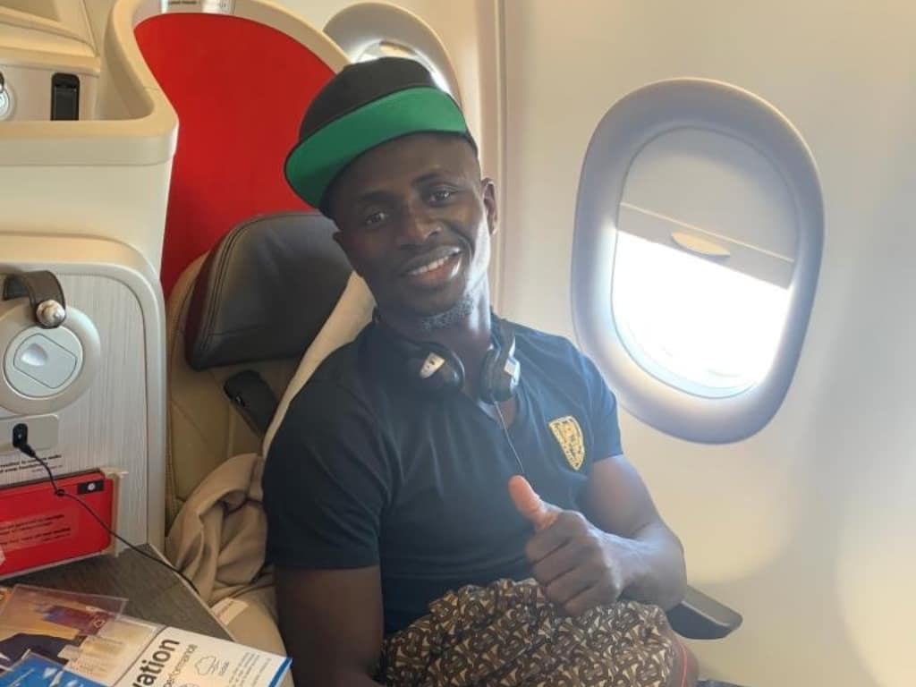 (PHOTOS)- Sadio Mané, Monsieur modestie..: Il a rejoint la sélection par vol simple