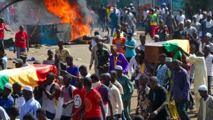 Guinée:  Amnesty dénombre la mort d'au moins 60 personnes depuis 2015