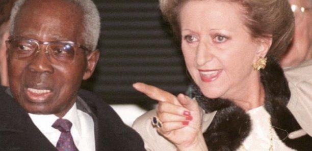 Nécrologie: L'épouse de Léopold Sédar Senghor, Colette Senghor, est décédée à Verson