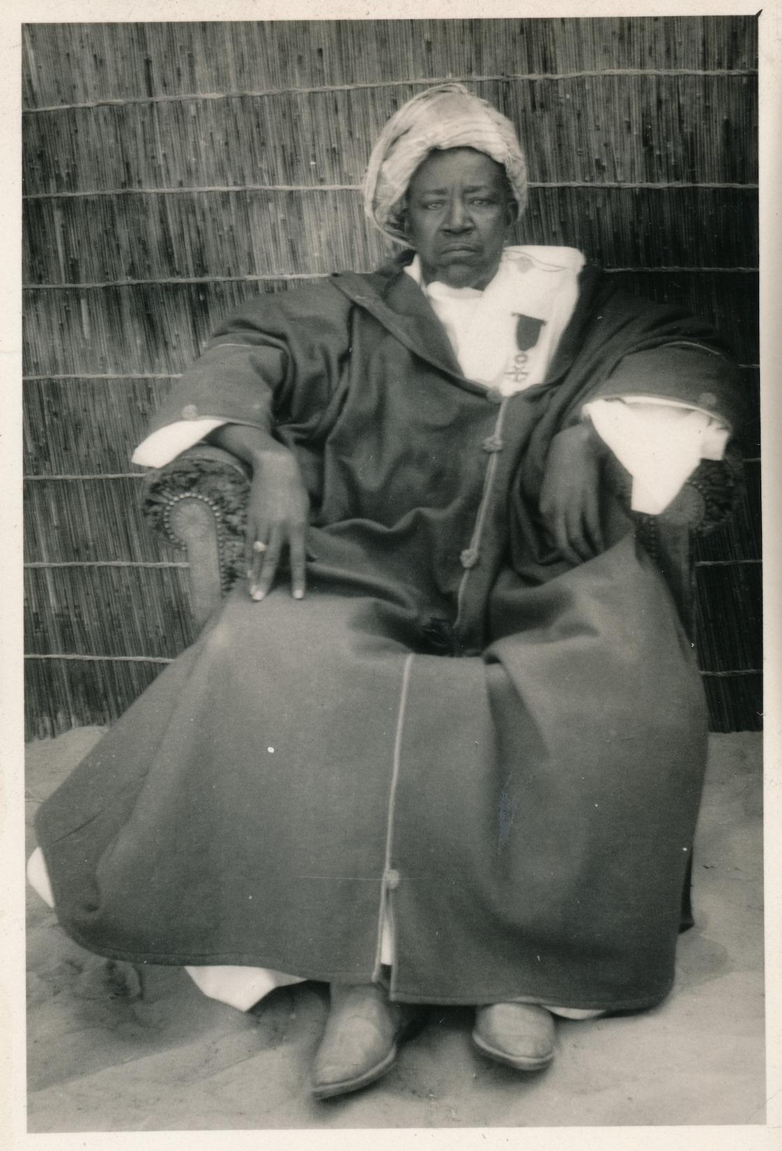 Une nouvelle photo de Serigne Fallou Mbacké, fils du Cheikh Ahmadou Bamba.