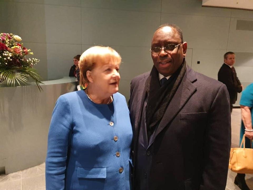 Quelques photos du Président Macky Sall dans les coulisses de Compact with Africa Berlin 2019