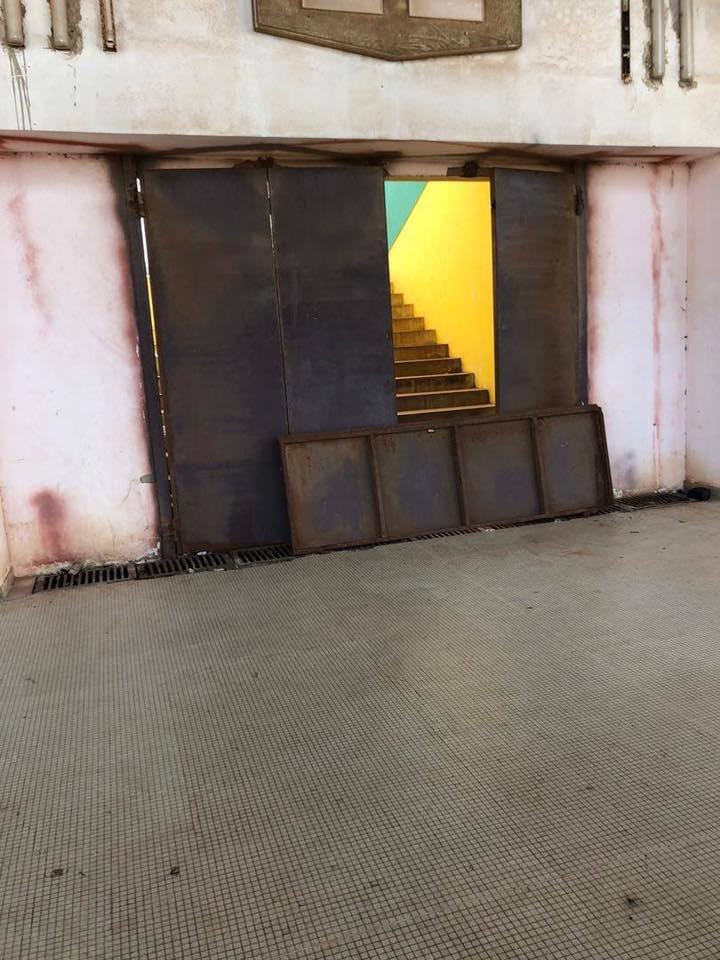Photos: Regardez l'état de délabrement du stade Léopold Senghor