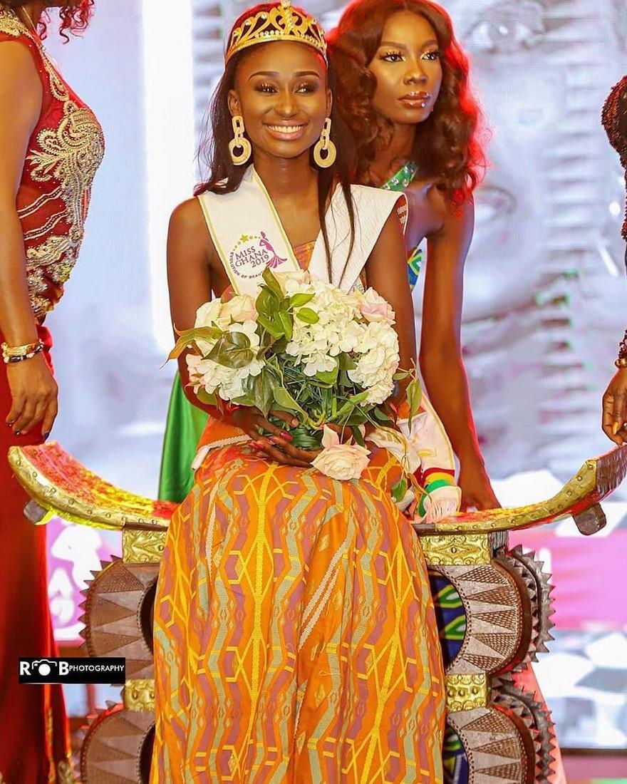 Miss Ghana : Rebecca Kwabi