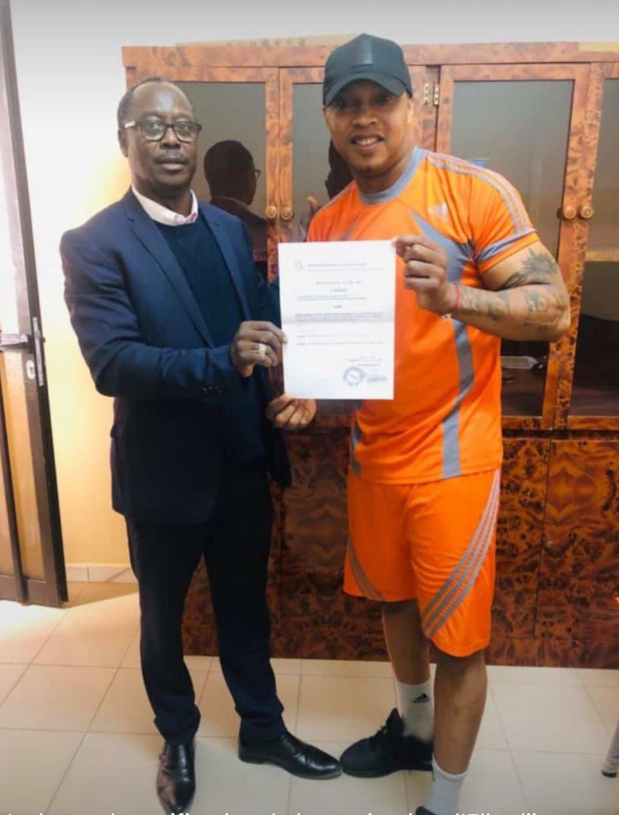 FSF: El Hadj Diouf nommé conseiller du Président