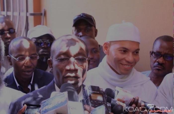 Pds: Karim Wade passe un coup de fil à Me Sall