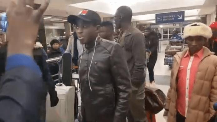Ouzin Keïta Refoulé de Paris