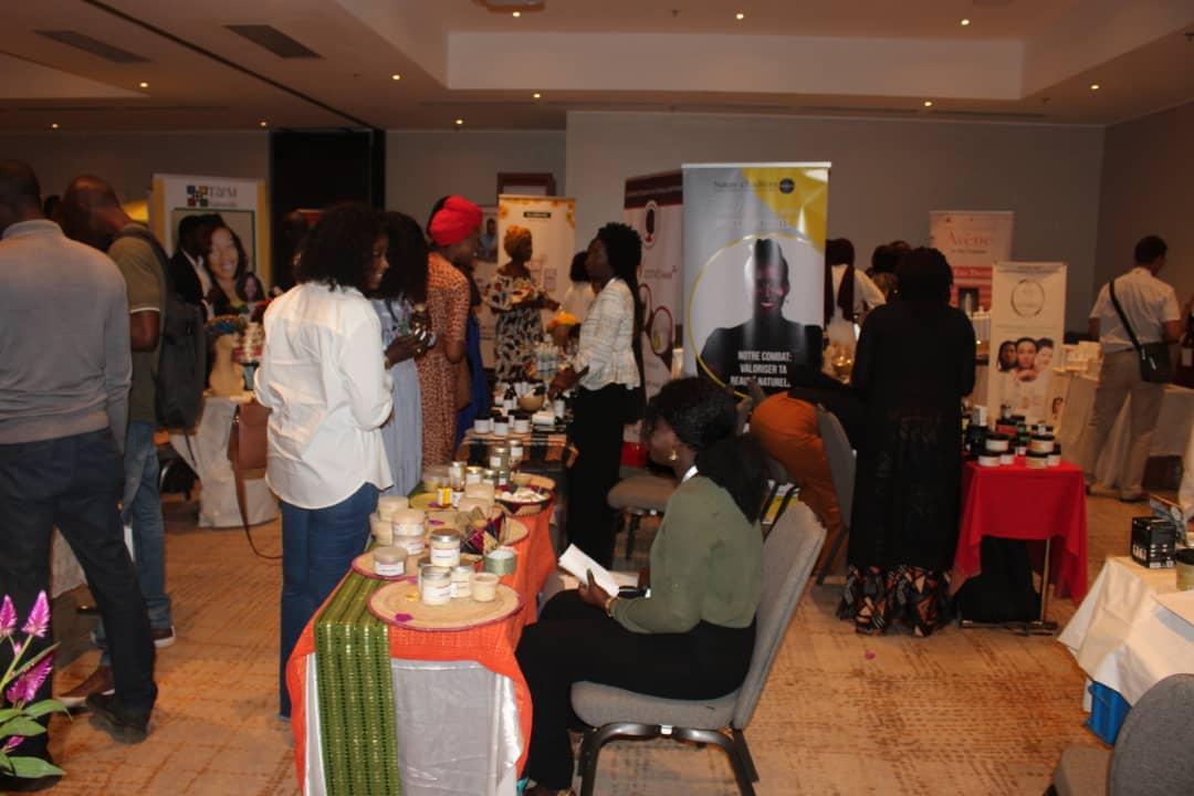 """PHOTOS - Madjiguène Gaye de la série """"Golden"""" à la 2e édition de l'African Beauty Forum"""