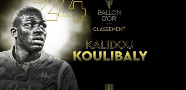 Ballon d'Or: Kalidou Koulibaly, 24e au classsement