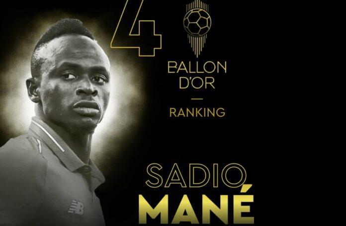 Classement ballon d'or 2019 FF:  Découvrez les pays africains qui ont snobé Sadio Mané