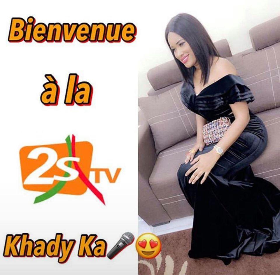 Après sa démission de la Sen Tv, Khady Kâ atterrit à la 2sTv