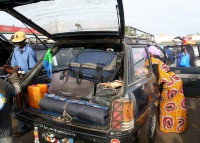 Ziguinchor: Un individu arrêté avec 1 kg de cocaïne dans une voiture de transport 7 places