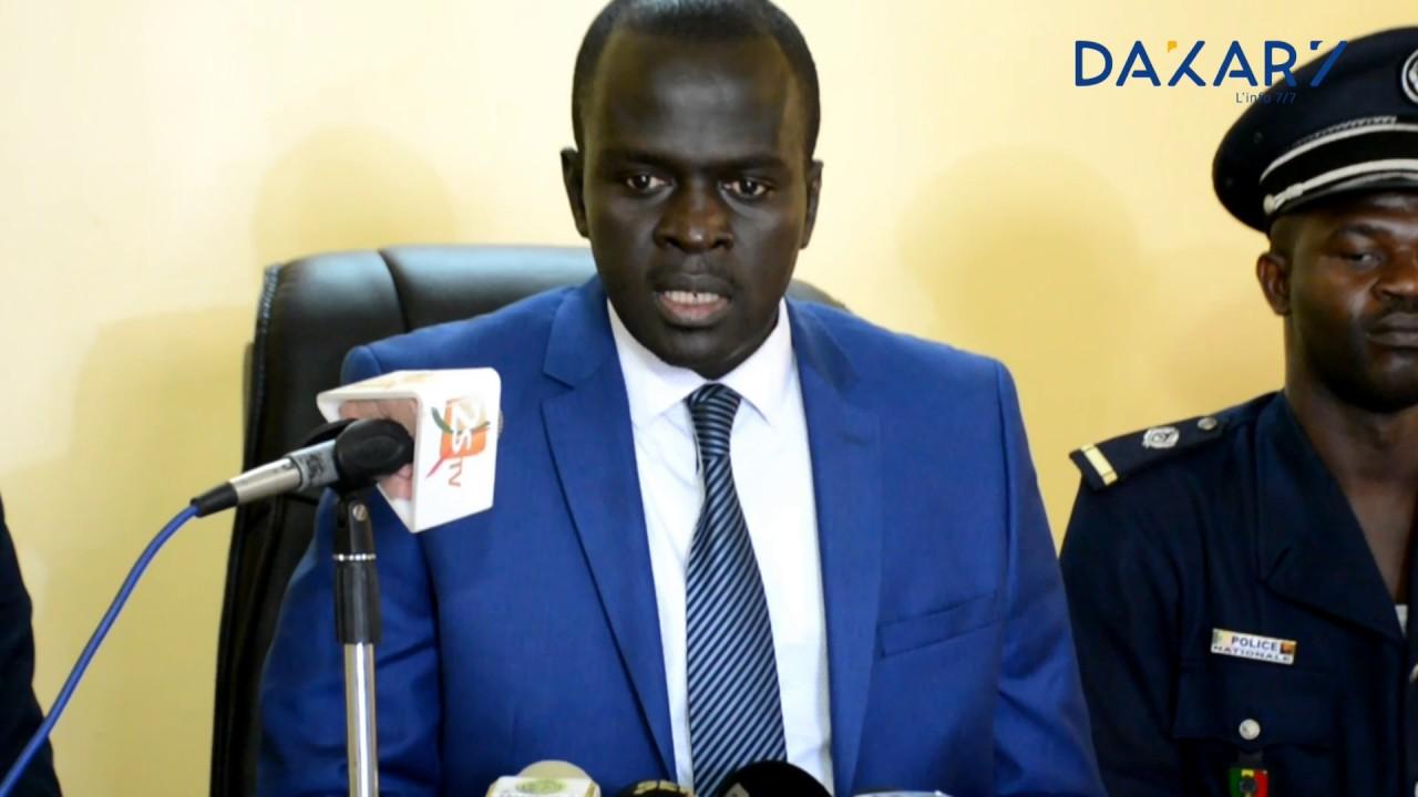"""Résultat de recherche d'images pour """"El Hadj Cheikh Dramé commissaire centrale"""""""