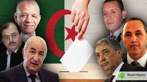 Présidentielle en Algérie: cinq candidats pour une élection contestée