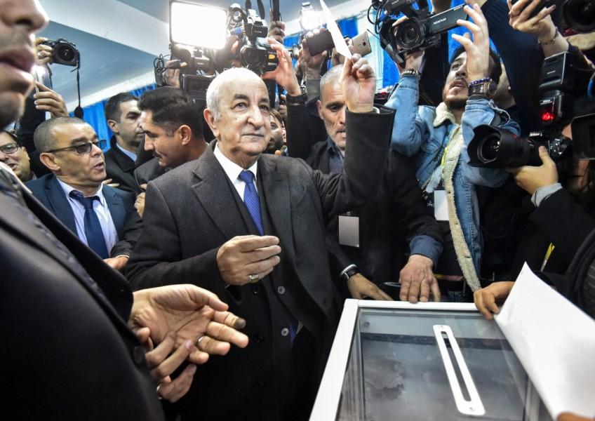 Algérie: Abdelmajid Tebboune remporte la présidentielle