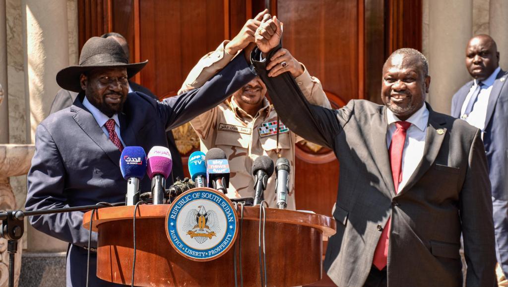 Soudan du Sud: Kiir et Machar s'engagent à former un gouvernement fin février