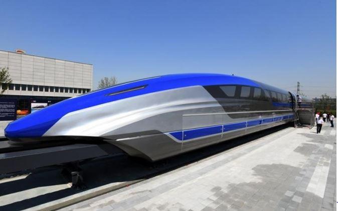 Le nouveau train chinois à sustentation magnétique atteint une vitesse de 600 km/H