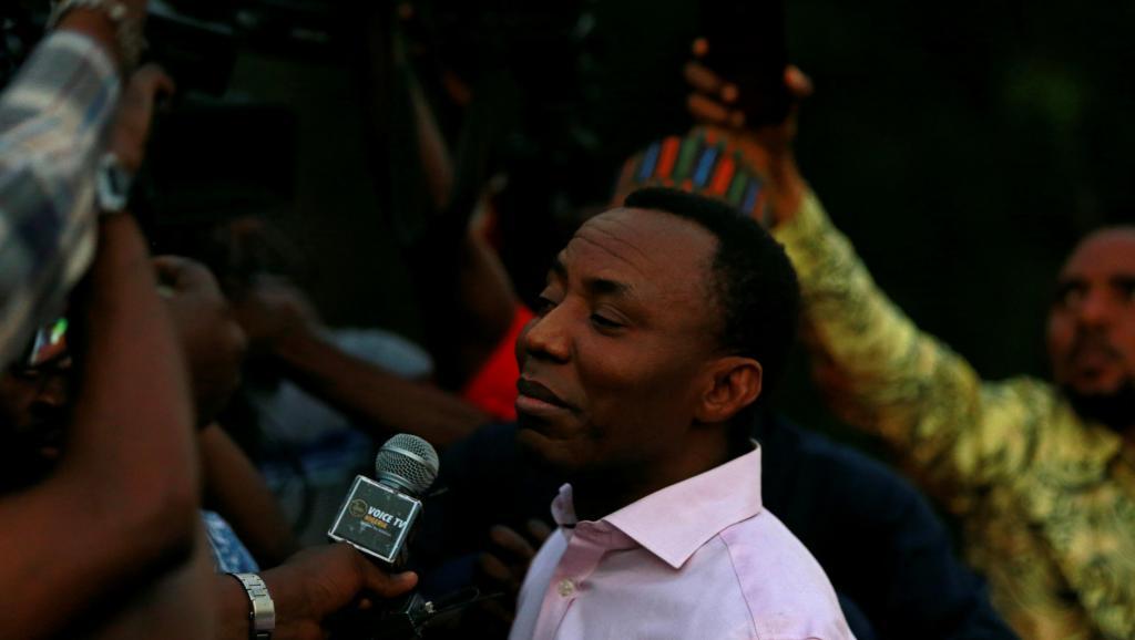 Nigéria: Le journaliste et opposant Omoyele Sowore libéré par la police secrète