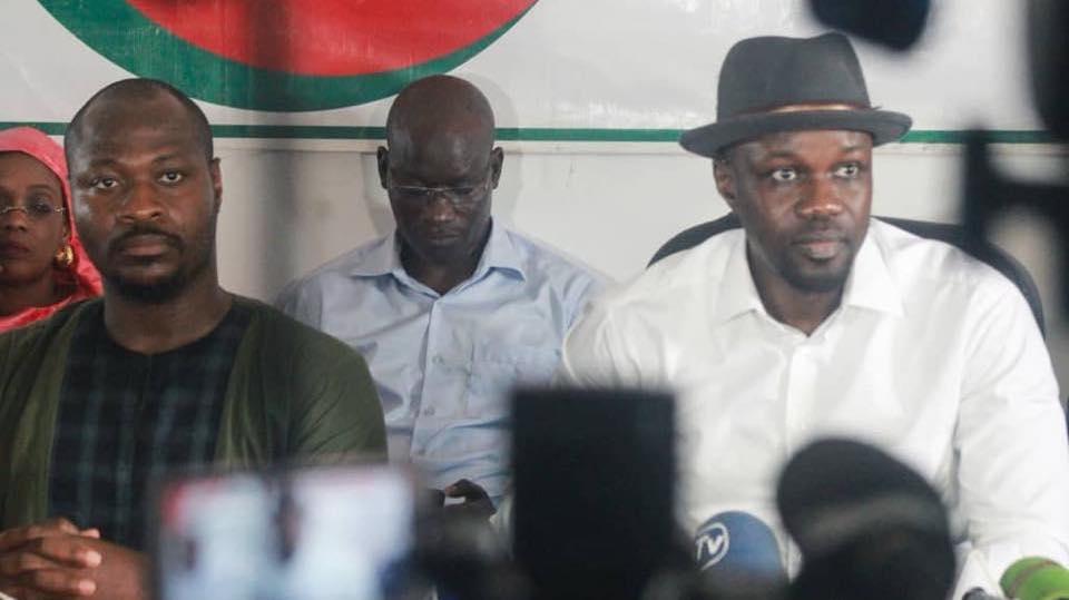 Message du 25 décembre: Ousmane Sonko pense à Guy Marius Sagna qui a passé Noël en prison