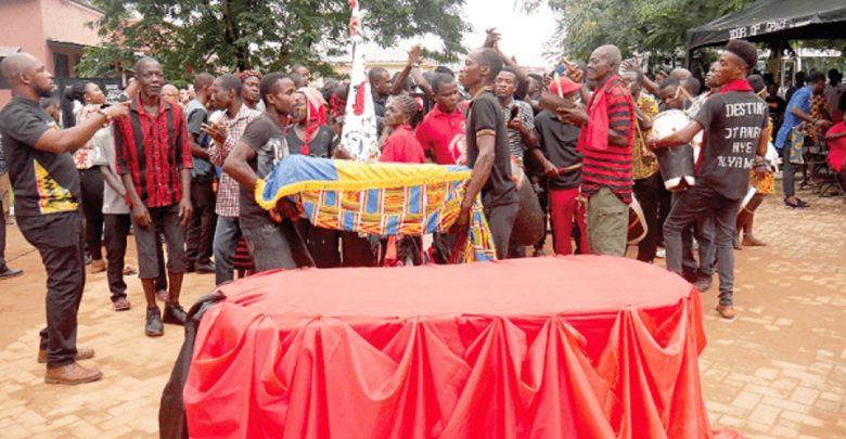 Les restes d'un esclave asservi à la Barbade, enterré au Ghana