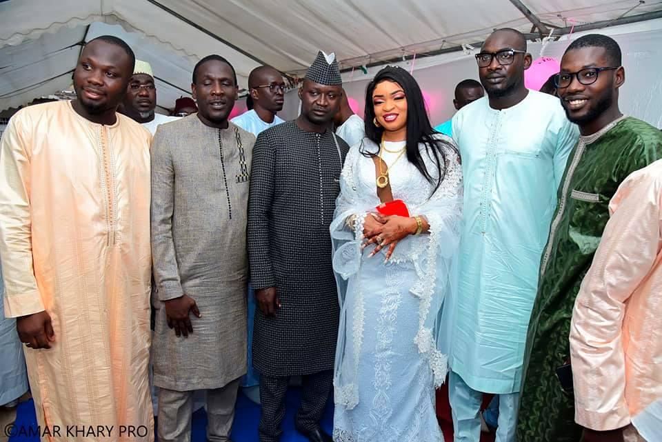 "PHOTOS - Le mariage royal de Meissa Guèye ""Sant Yalla Boutique"""