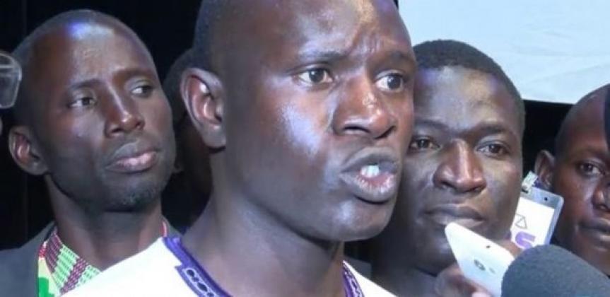 Babacar Diop, leader de Fds: «Tant que nos camarades ne seront pas libérés, il n'y aura pas de stabilité»