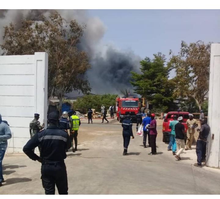 Armée sénégalaise: Un incendie fait des dégâts estimés à plusieurs millions