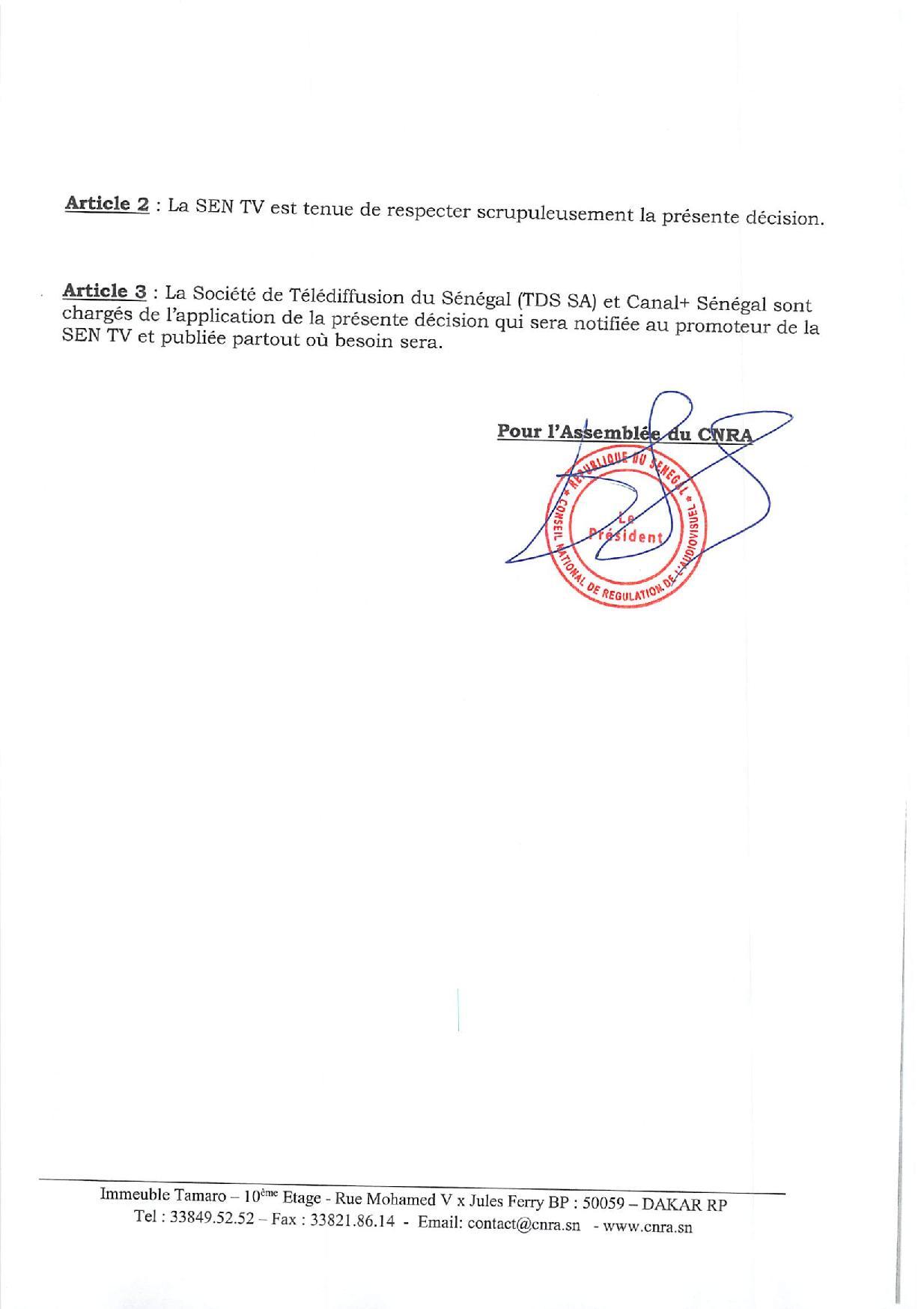 CNRA - Suspension de 7 jours des programmes de SEN TV: Bougane Guèye Dany joue-t-il au pocker ?