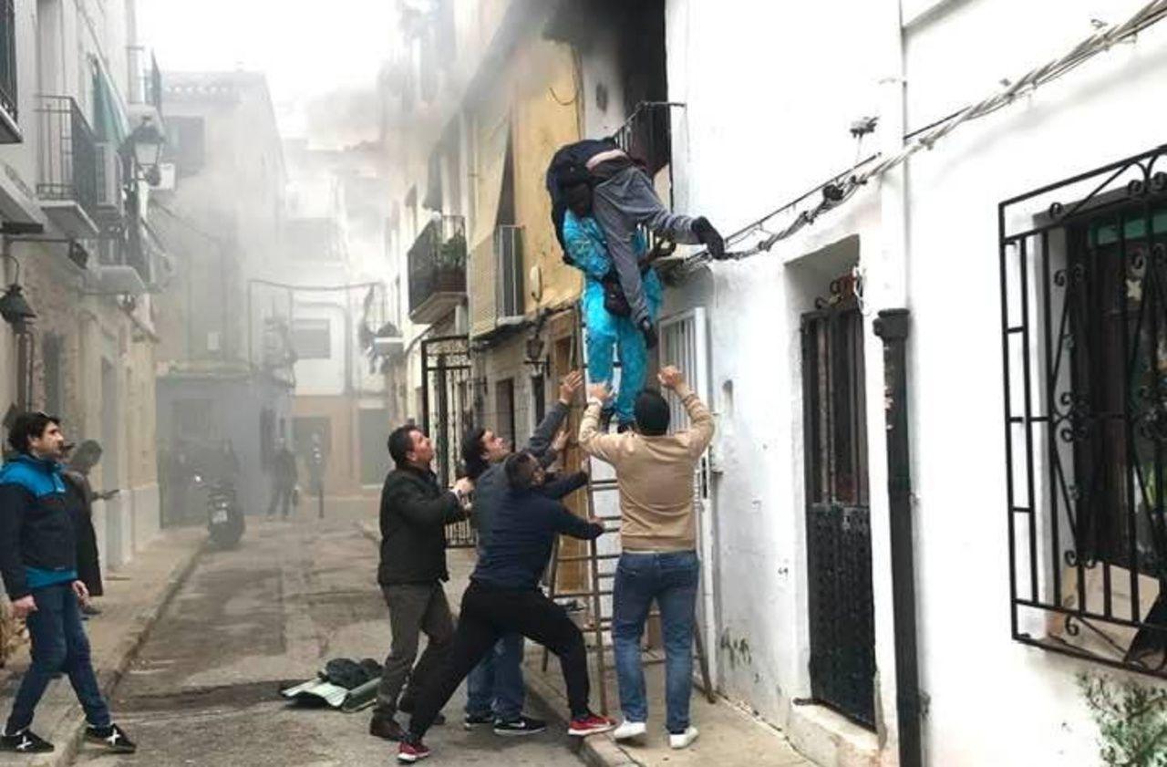 Espagne: Gorgui Lamine Sow a obtenu sa régularisation après avoir sauvé un handicapé des flammes