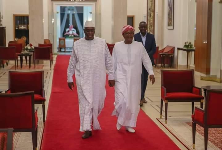 Umaro Sissoco Embalo a réservé sa première visite au Président Macky Sall