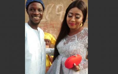 """Les images du baptême du fils de Alassane Guèye et Ndèye Ndiaye de la série """"Mbettel"""""""